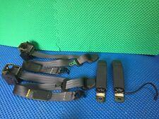 2000 CHEVROLET S10 BLAZER SEAT BELTS LH/RH USED CHARCOAL/DARK GRAY