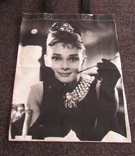 Audrey Hepburn Tote Bag Shopping Canvas Handbag (T-Shirt Vest Tank Raglan)