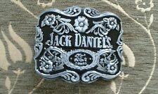 BRAND NEW Jack Daniels  Metal Belt Buckle - UK Seller (Silver & Black )