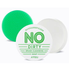 [A'PIEU] No Dirty Brush Cleansing Soap 47g - Korea Cosmetics