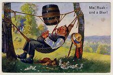 LAZY DRINKER BEER BARREL HAMMOCK / FAULER TRINKER HÄNGEMATTE BIER FASS * 20s PC