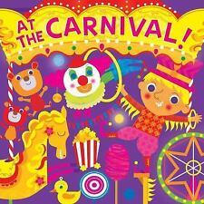 Fluorescent Pop!: At the Carnival! by Hunter Reid (2017, Board Book)