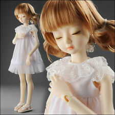 "Dollmore 17"" 1/4 BJD doll clothes MSD SIZE - Couya One-piece (White)"