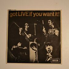 "ROLLING STONES Got live if you want it ! 7"" EP UK"