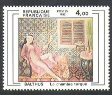 France 1982 Balthus/French Art/Painting/Artists/Nude/Naked Woman 1v (n37122)