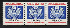 #O135 20c Official     PNC3  Pl #1 - MNH