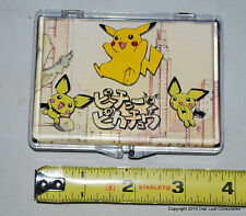 Pokemon Pikachu Pin set of 3 From JAPAN Not USA issued.