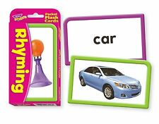 Rhyming Pocket Flash Cards  - Helps Teach Children Rhyming Words