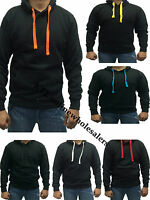 NEW Plain Hoodie Hoody Sweatshirt Sweater Top Jumper  Mens Womens Boys Girls