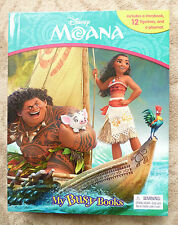 Moana My Busy Books Set Story Book 12 Figurines, PlayMat - Brand New