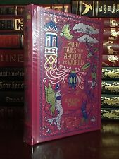 Andrew Lang Fairy Tales New Sealed Illustrated Leather Bound Collectible Gift