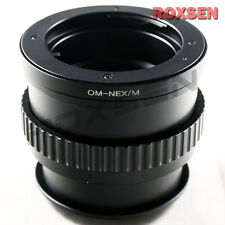 Olympus OM lens to Sony E mount adapter Macro Focusing Helicoid NEX-6 A7 A6000
