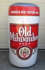 "Old Milwaukee/OM Light Beer - 17""x33"" Inflatable Beer Can - shipping discount"