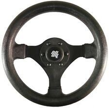 Black Soft Grip Ultraflex Boat Steering Wheel - 280mm