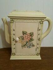 Teapot Wooden Curio Cabinet Wall Hanging Passport Furniture 1998 Wooden