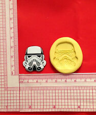 Star Wars Stormtrooper Silicone Push Mold A835 Candy Chocolate Craft Fondant Wax