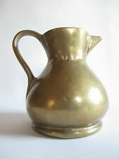 Ältere Massive Messing Bronze Kanne Vase Dekoration 1,17 kg