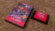 Arrow Flash Sega Genesis Renovation SHUMP Game lot w/ Box CLEAN TESTED FREE SHIP