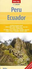 Map of Peru and Ecuador, by Nelles Map