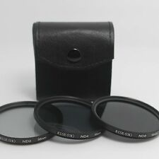 58mm Neutral Density ND2 ND4 ND8 Filter kit For Canon 60D 650D 600D 550D 18-55mm