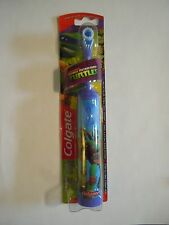 FREE SHIPPING CLEARANCE SALE NEW Colgate Ninja Turtles Purple Powered Toothbrush