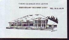 1987  -  RESTAURANT DUCHESSE ANNE  SABLES D OR LES PINS
