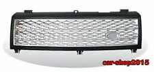 Front Bumper Grille Black&Silver for LAND ROVER RANGE ROVER L322 2003-2005