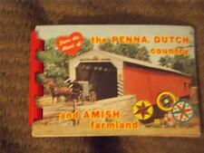 "Mini Photo Album, ""From the Heart of Penna. Dutch Country and Amish Farmland"""