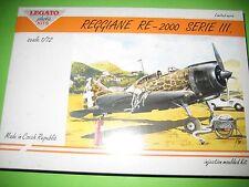 REGGIANE RE-2000 III SERIE BY LEGATO 1/72 - REF.72002