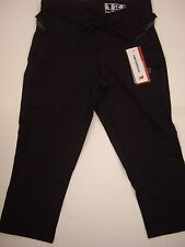 New Balance Black Ultra Capri Running Exercise Keep Fit Gym Trousers Size S