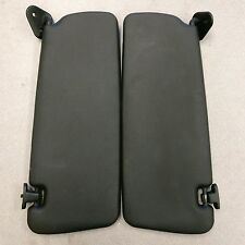 BMW E36 LIFT & RIGHT SUN VISOR E36 318i 323I 325i 328i M3 iS Ti BLACK LATHER