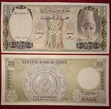 SYRIA 500 pounds 1992 P-105f UNC
