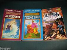 Stephen R Donaldson COMPLETE Second Chronicles Thomas Convenant Wounded Land +