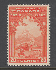Canada Sc E3 MLH. 1927 20c Special Delivery, fresh & F-VF