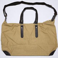 Men's Women's Canvas/Leather Shoulder Bag Messenger Bag School Laptop Bag purse