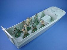 Britains Deetail Toy Soldiers WWII US Army Infantry D-Day Set 7 pcs Plastic 1/32