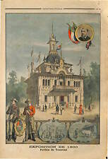 PAVILLON TRANSVAAL  South AFRICA Republic Kruger EXPOSITION UNIVERSELLE  1900