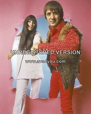 "Sonny and Cher 10"" x 8"" Photograph no 7"
