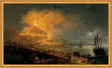 The Eruption of Mt. Vesuvius Pierre-Jacques Volaire Italien Vulkan B A2 03105