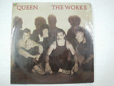 QUEEN THE WORKS RARE LP record vinyl INDIA INDIAN 171 ex