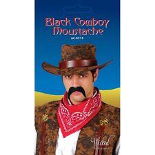 NERO Cowboy BAFFI FINTA BAFFI TACHE Per Costume