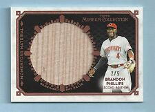 BRANDON PHILLIPS 2014 TOPPS MUSEUM COLLECTION JUMBO LUMBER BAT BARREL RELIC /5