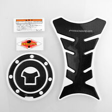 Progrip Carbon Motorcycle Tank Protector Sticker + Gas Cap For Honda CBR250R F3
