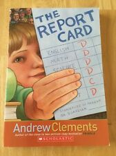 The Report Card by Andrew Clements (2006 Paperback) Good Book