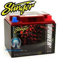 SPP1200 STINGER 2400W CAR AUDIO 12v DRY CELL LEAD ACID POWER RED BATTERY NEW