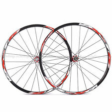 "XXF MTB 26"" Wheels Wheelsets-DX-T5 Red Hub for SHIMANO SRAM 8S/9S/10S"