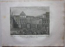 1819 PALAIS DE JUSTICE DE LA CITÉ DE PARIS Denkbuch Révolution française Bailly