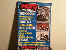 moto journal n601 21avril1983 essai 1000yamaha midnight special