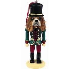 CAVALIER KING CHARLES   ~ NUTCRACKER   SOLDIER DOG ORNAMENT #18