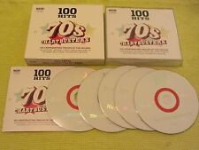 100 Hits 70s Chartbusters 5 CD Album ft Dan Hartman T Rex Jacksons Sweet